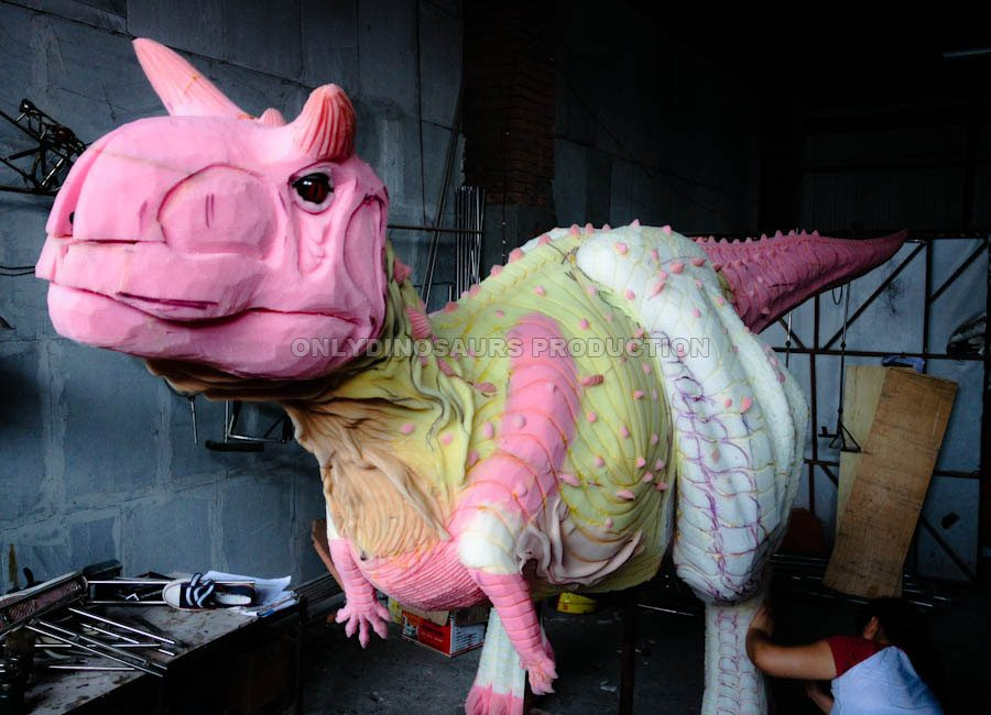 Carnotaurus Costume Texture Work