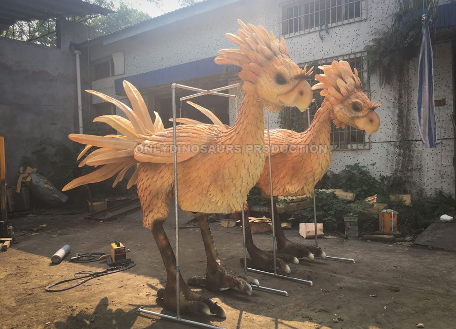 Chocobo Costume Painting Color