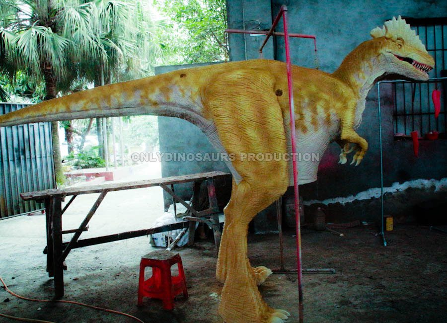 Dilophosaurus Costume Painting Color