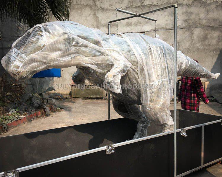 Packing Dinosaur Costume