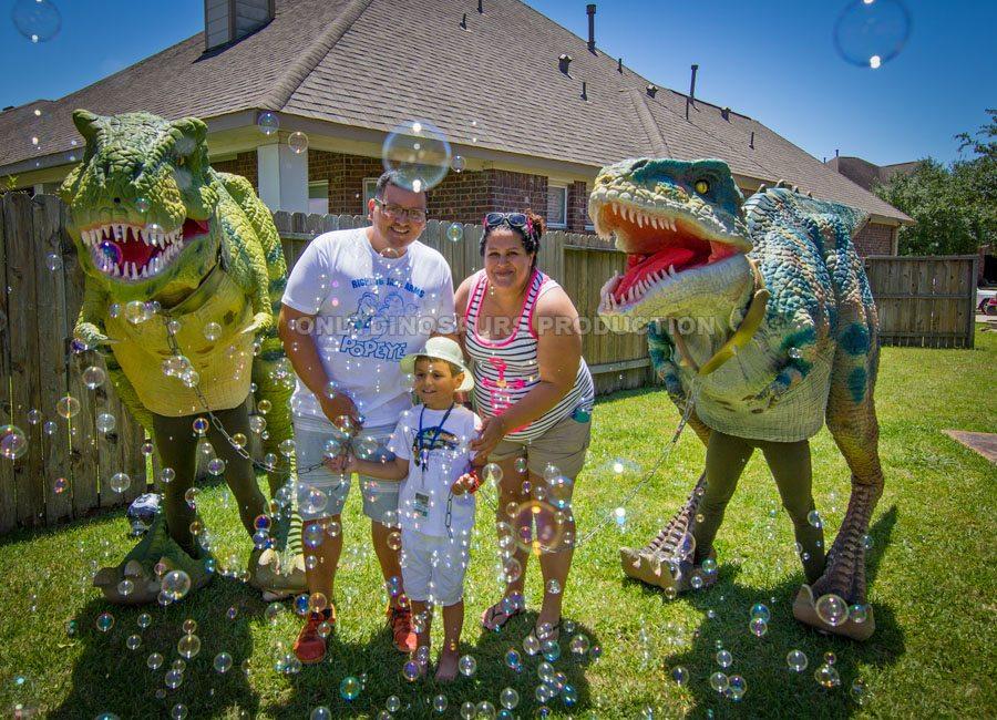 Dinosaur Theme Birthday Party