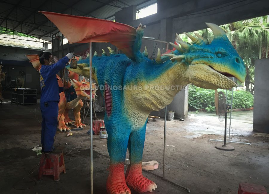 Dragon Costume Painting Color