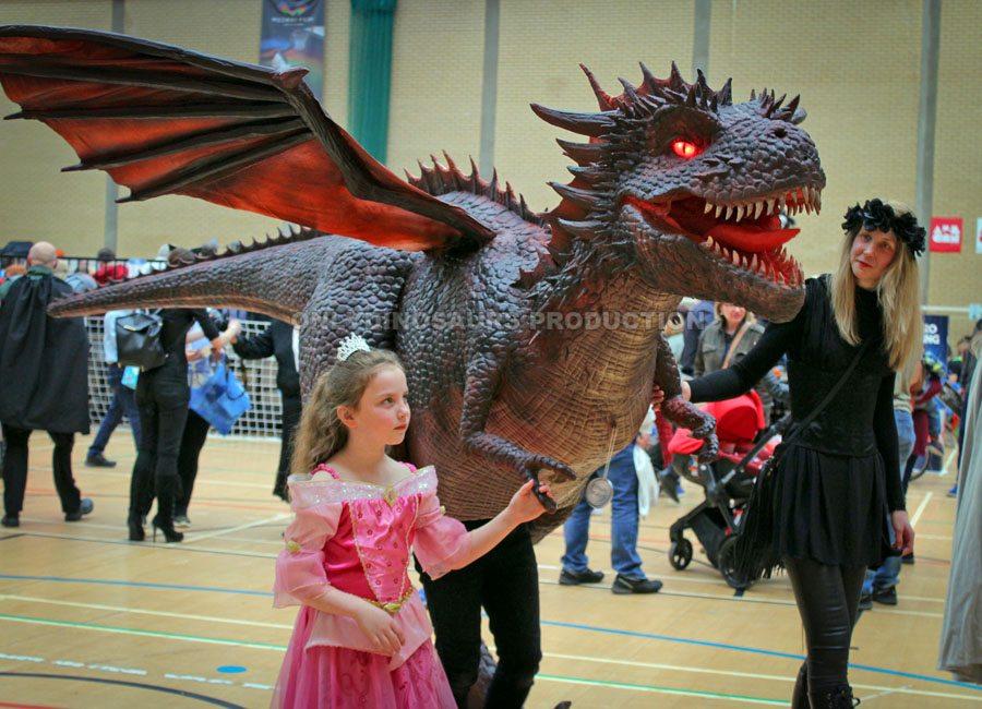Dragon Costume in Comic Con
