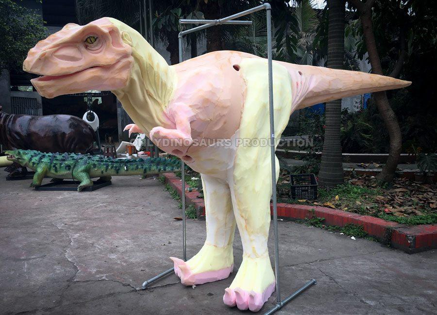 Hidden Legs Dinosaur Costume Sculpture Work