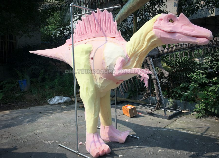Hidden Legs Spinosaurus Costume Sculpture Work