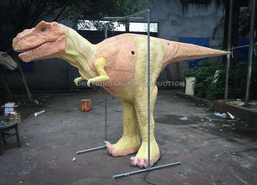 Hidden Legs T-Rex Costume Texture Work