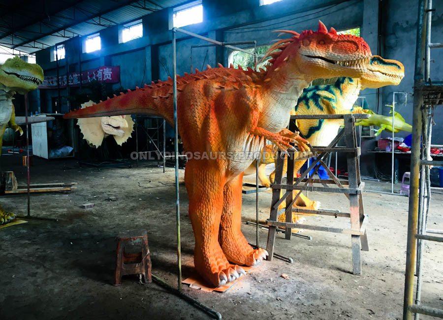 Indominus Rex Costume Painting Color