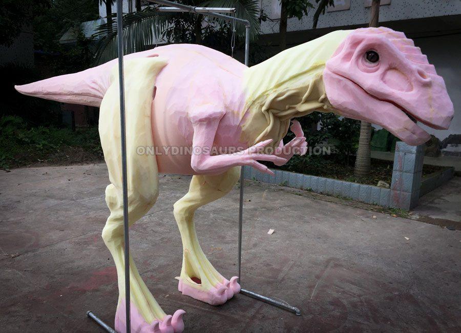 Raptor Suit Sculpture Work