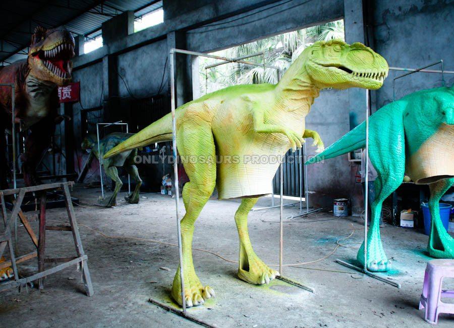 Raptor Suit Painting Color