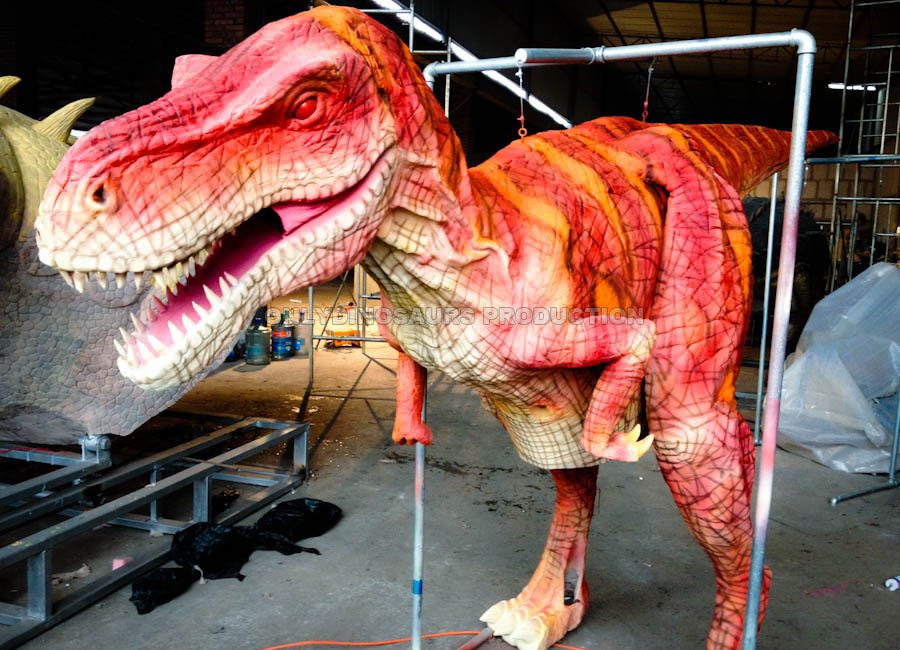 Red Raptor Costume