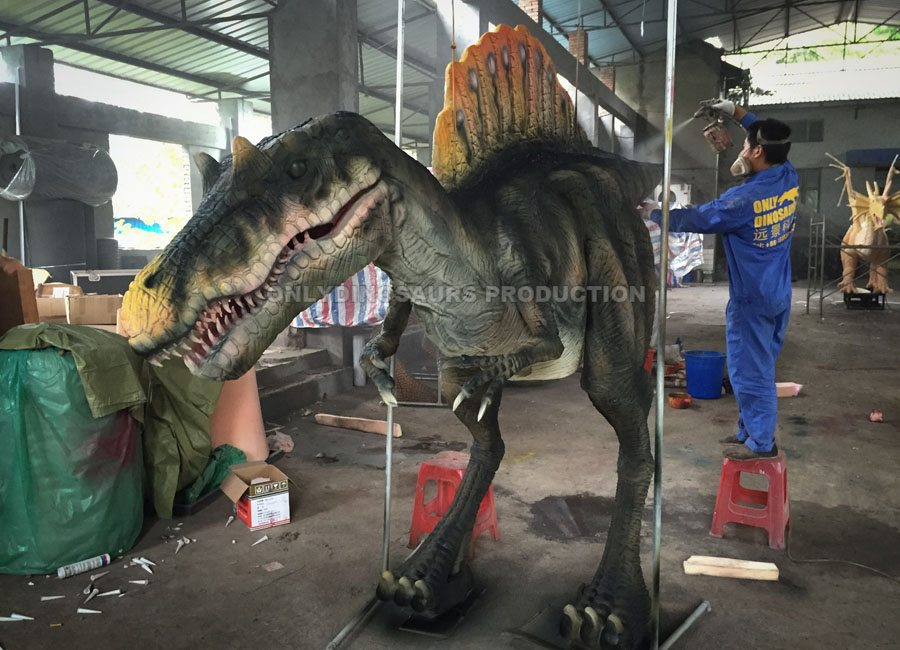 Spinosaurus Costume Painting Color