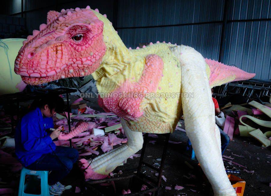 T-Rex Costume Texture Work