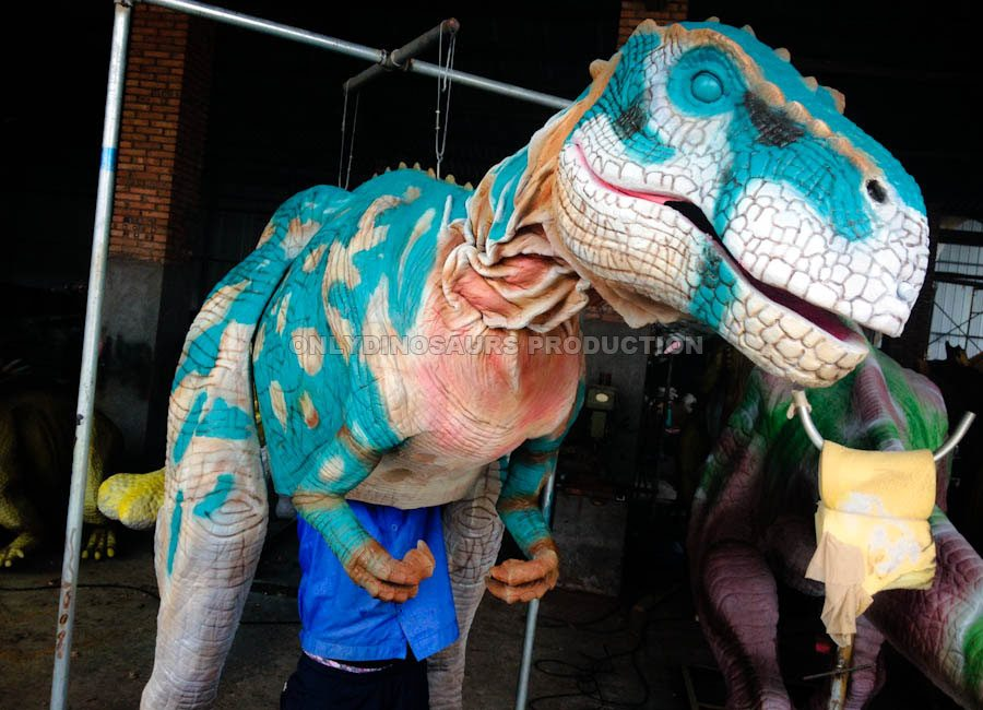 T-Rex Costume Painting Color