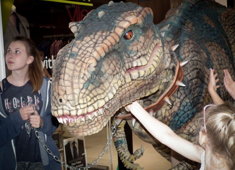 T-Rex Costume Show