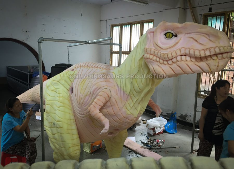Raptor Costume Texture Work