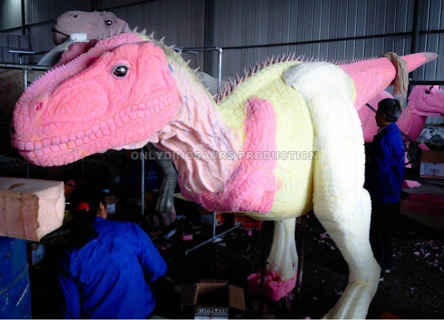 T-Rex Suit Fine Texture Work