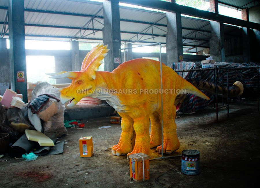 Triceratops Costume Painting Color
