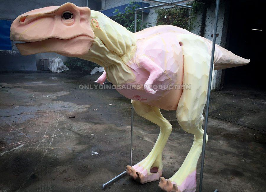T-Rex Costume Sculpture Work