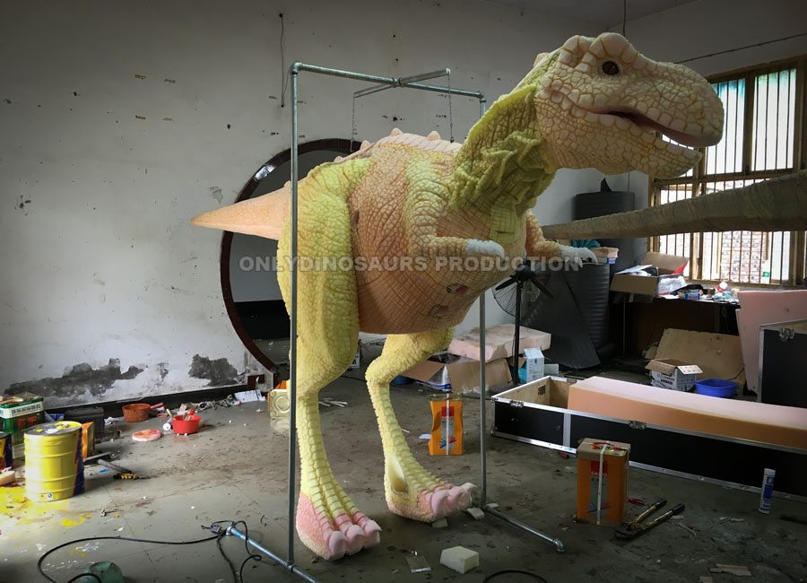 Tyrannosaurus Rex Costume Texture Work