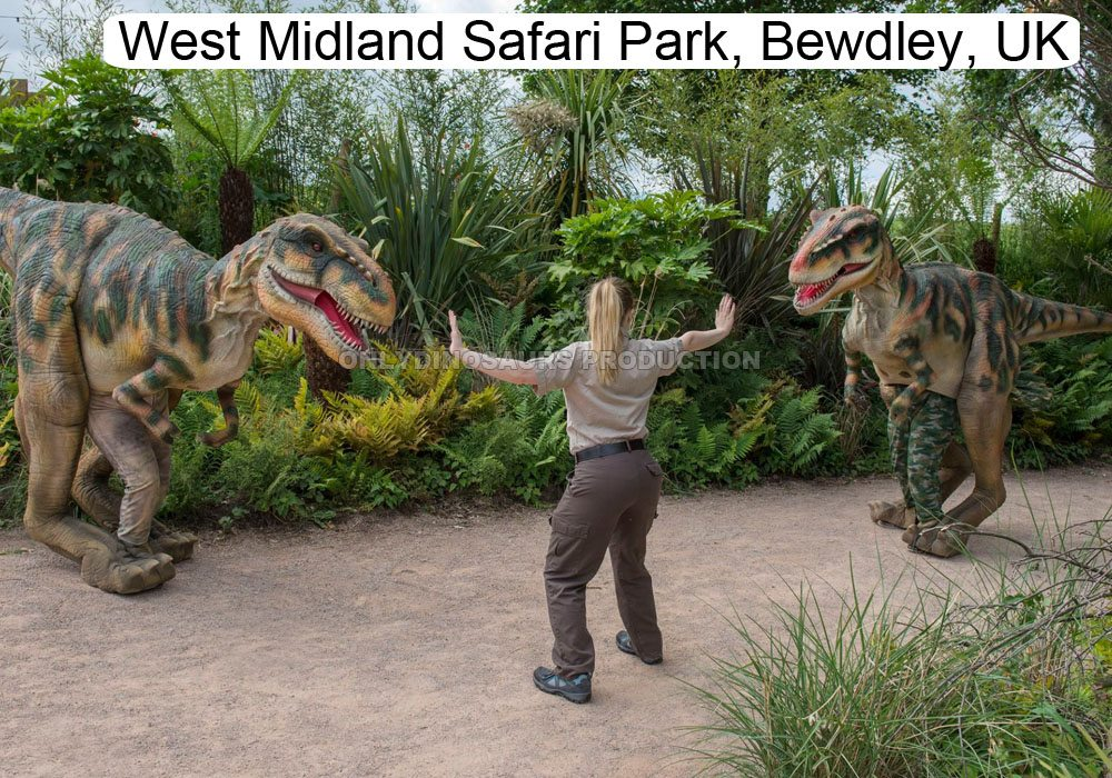 West Midland Safari Park Dinosaurs