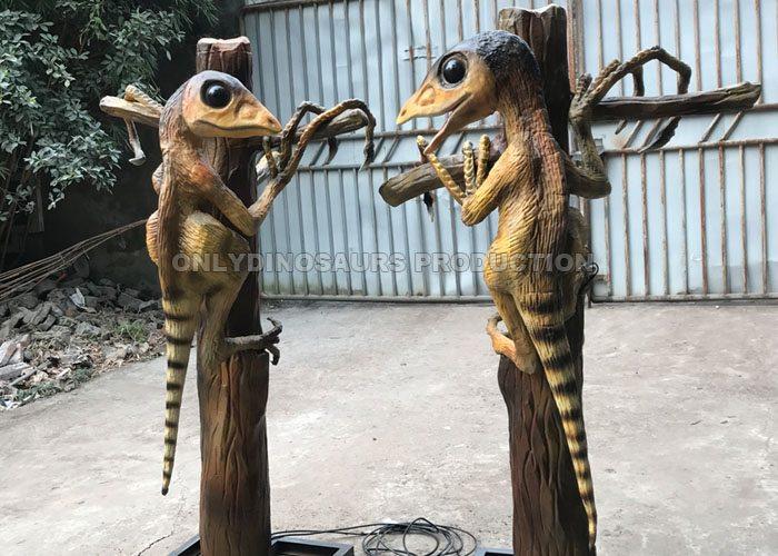 Animatronic Epidendrosaurus