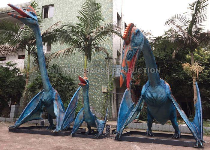 Animatronic Quetzalcoatlus Family