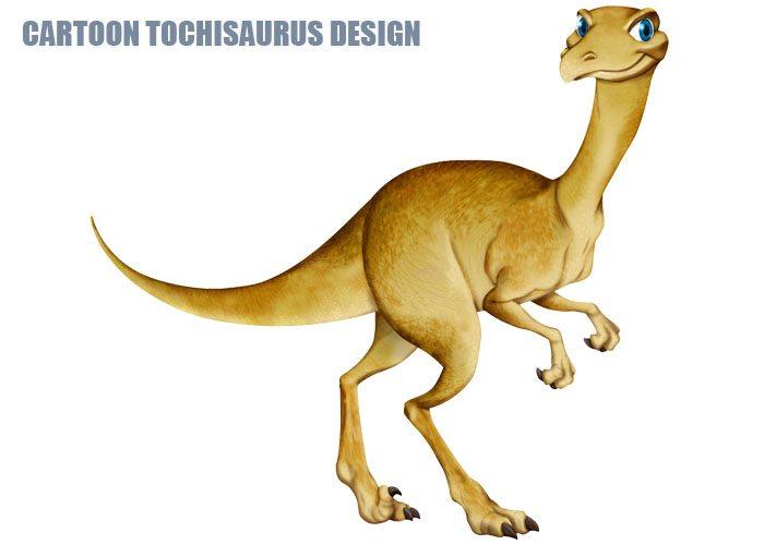 Cartton Tochisaurus Design