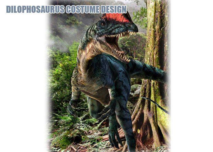 Dilophosaurus Costume Design