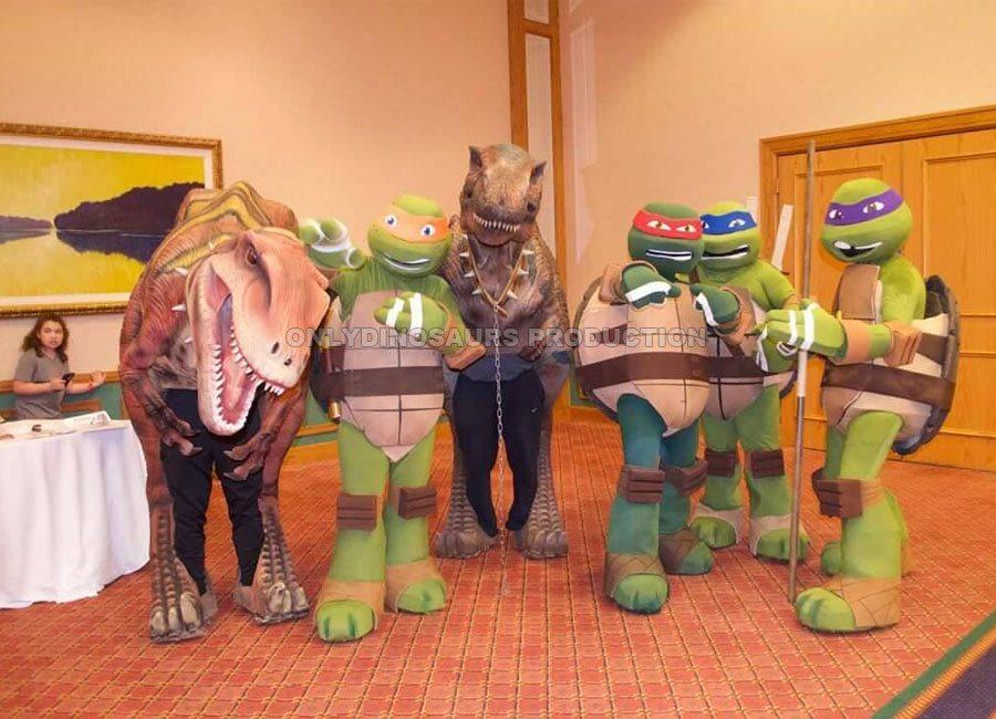 Dinosaur Costume for Comic Con