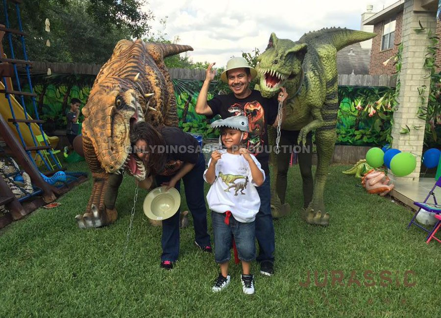 Dinosaur Costumes for Birthday Party