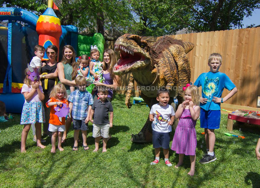 Dinosaur Event for Birthday Party