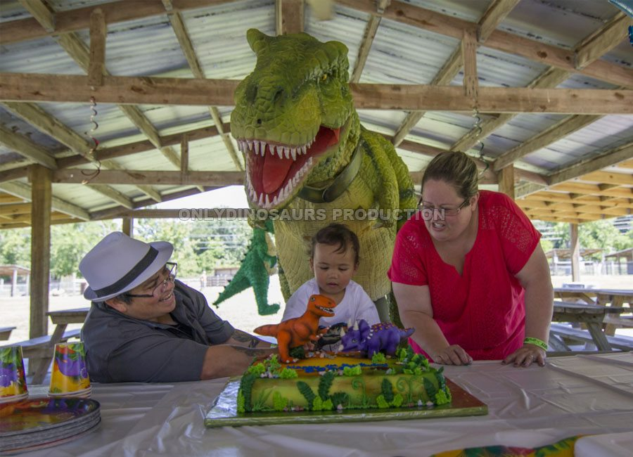 Dinosaur Theme Birthday Party