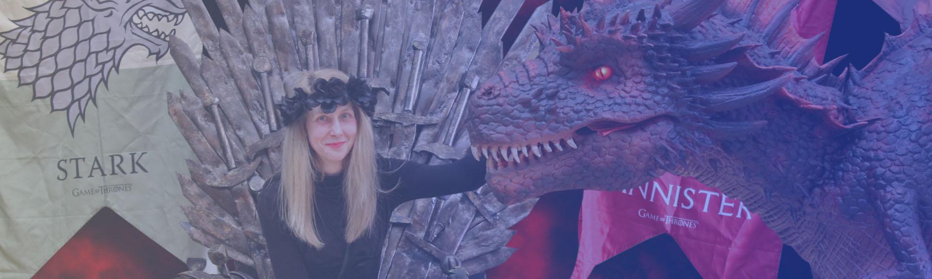 Dragon Costume for Comic Con Banner