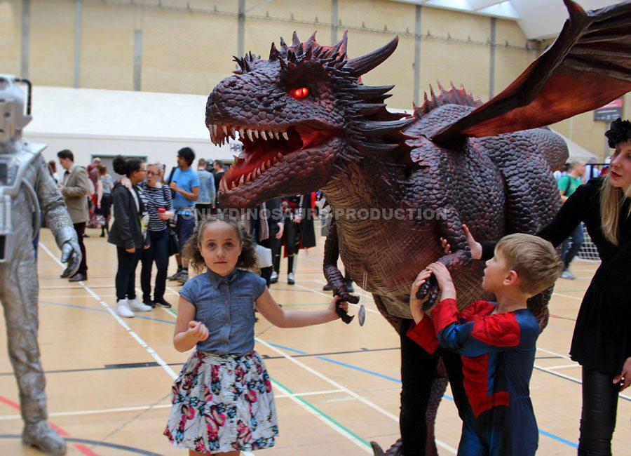 Dragon Costume for Comic Con