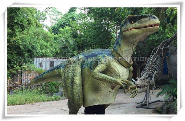 Finished Raptor Costume Work
