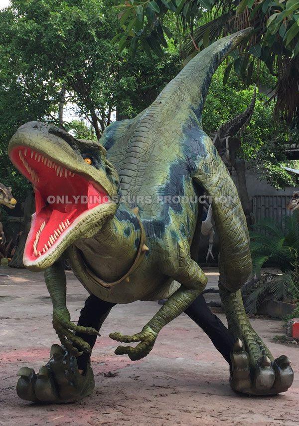 Finished Raptor Suit Work