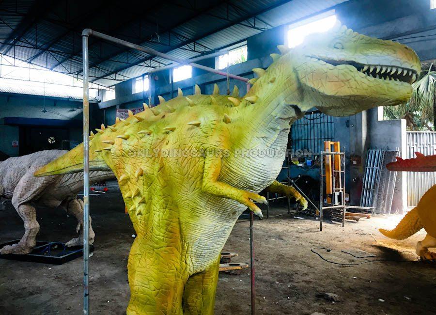 Hidden Legs T-Rex Costume Painting Color