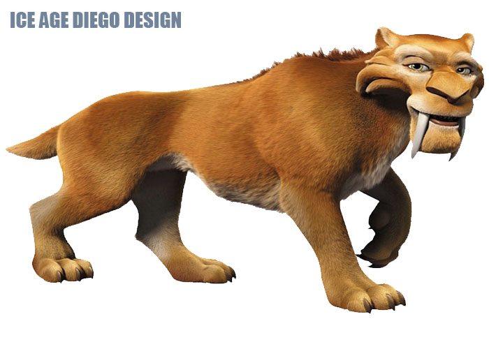 Ice Age Diego Design