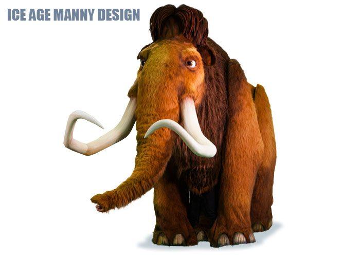 Ice Age Manny Design
