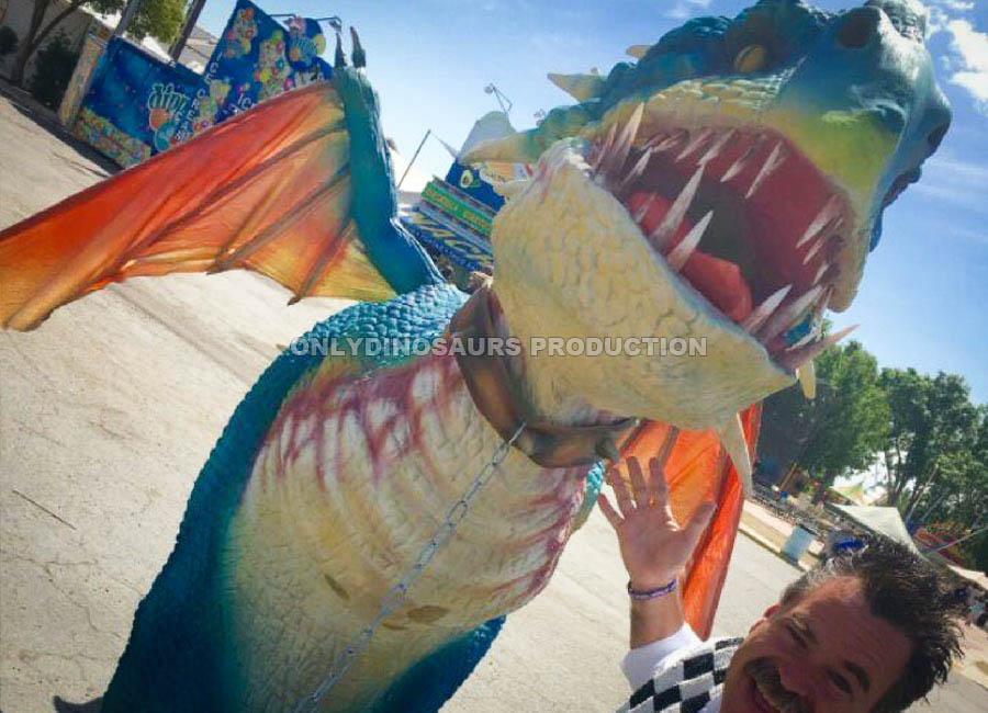 Nadder Dragon Costume for Amusement Park