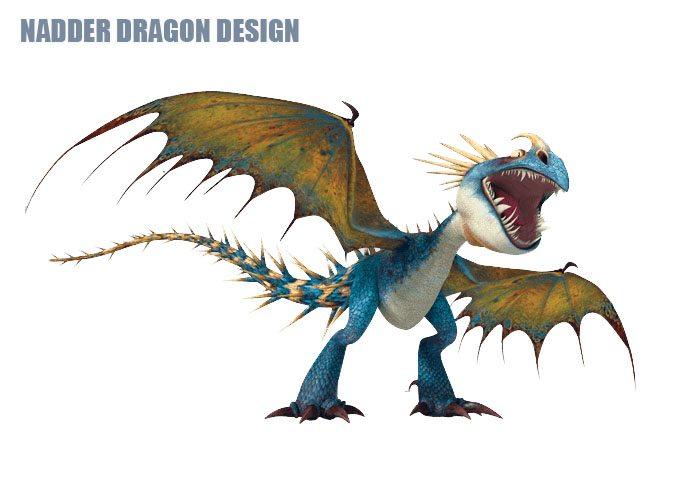 Nadder Dragon Design