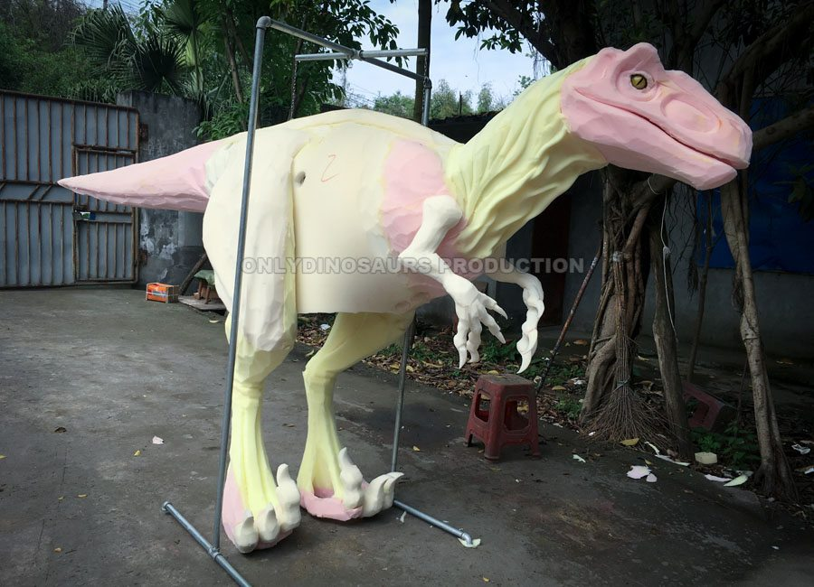 Raptor Costume Sculpture Work