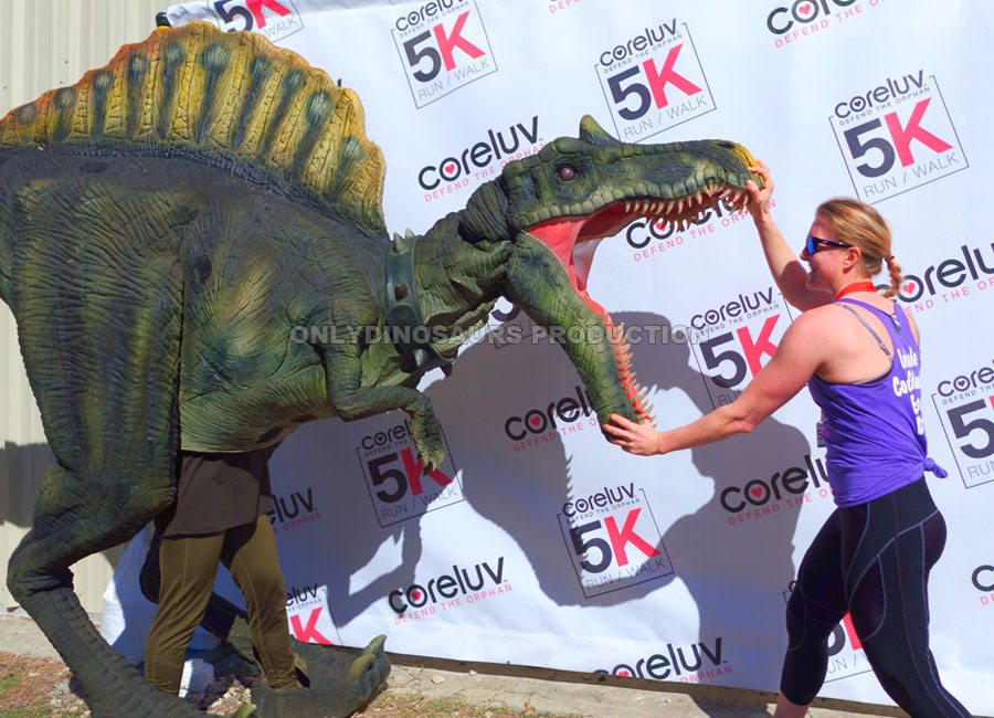 Spinosaurus Costume for Marathon Event