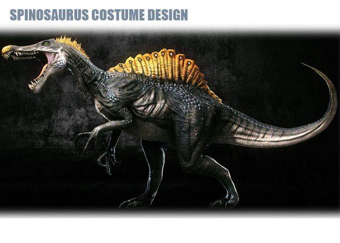 Spinosaurus Costume Design