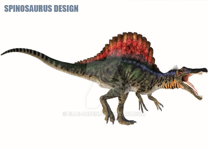 Spinosaurus Design