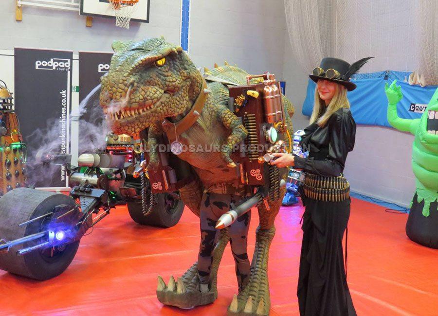Steam Punk T-Rex Costume