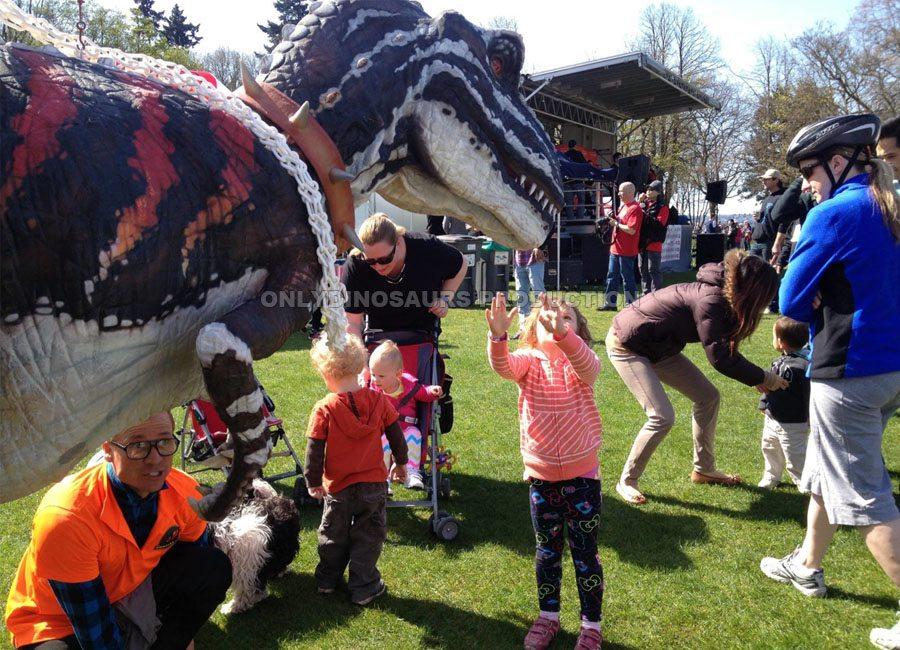 T-Rex Costume for Music Festival