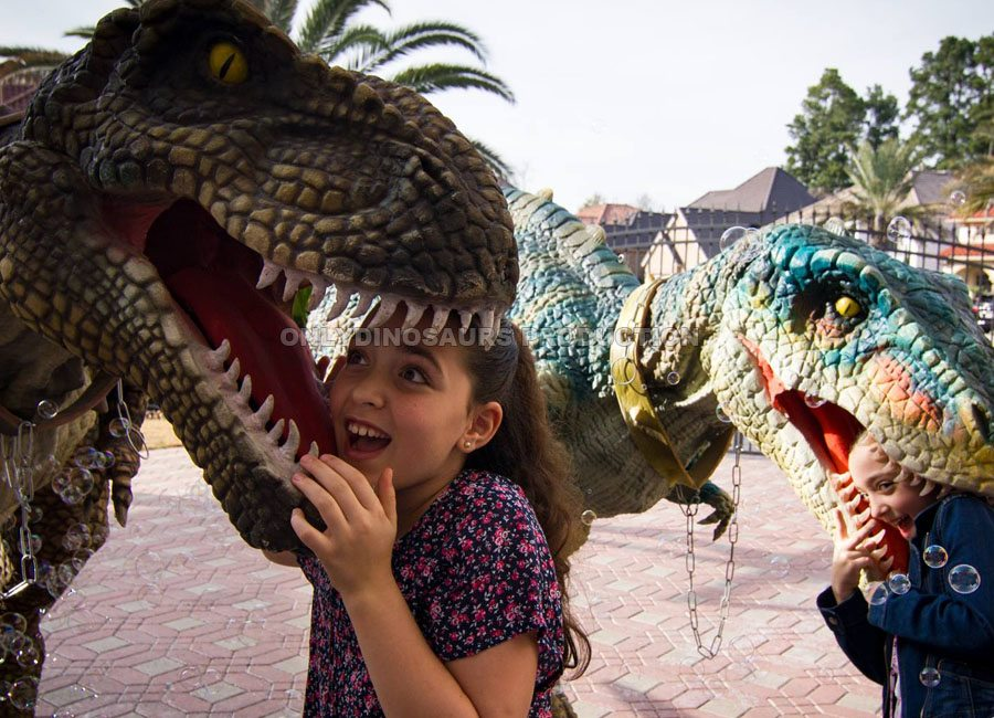T-Rex Costume for Girl Birthday Party