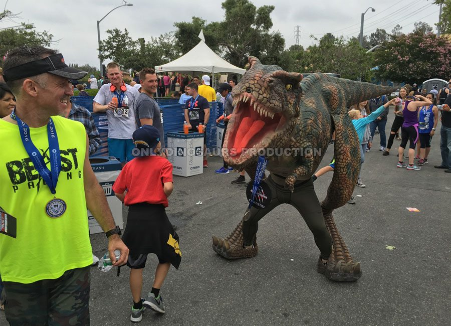 T-Rex Costume for Marathon Event