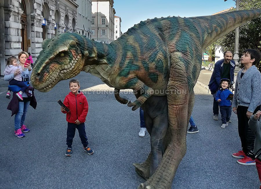 T-Rex Costume for parade